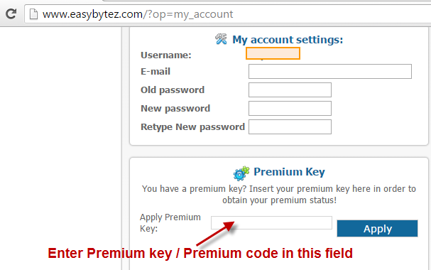 Active easybytez premium account