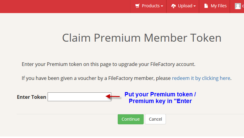 Active filefactory premium account