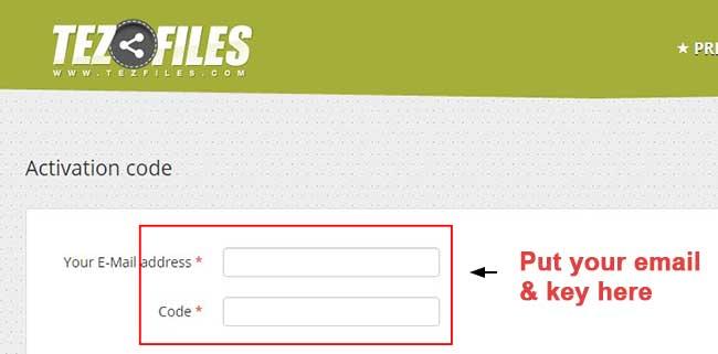 Active tezfiles premium account